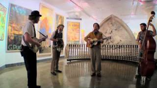 "Pokey LaFarge and the South City Three ""Claude Jones"" and ""Drinkin"