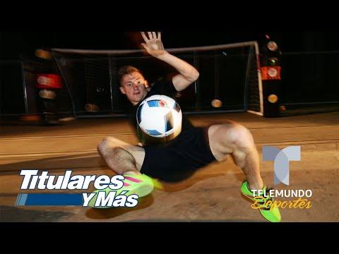 ¡Puro profesional! Pavel Pardo y Nani se vuelven jueces de Street Style | Telemundo Deportes