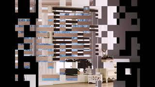 Жалюзи зебра в интерьере - оригинальные примеры готовых идей на фото