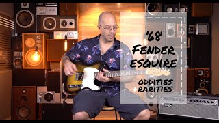 Oddities & Rarities - '68 Fender Esquire | Better Music