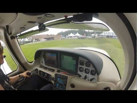 Cirrus SR20 Demo flight - Keiheuvel fly-in 2012