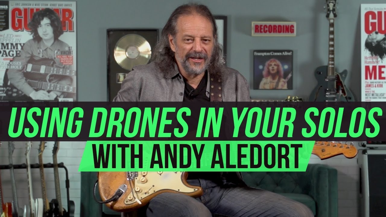 Utilizing Open-String Drones for Single-Note Licks, Melodies