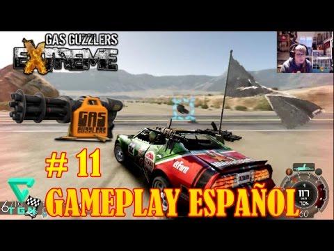 GAS GUZZLERS EXTREME GAMEPLAY ESPAÑOL ATRAPA LA BANDERA Part 11