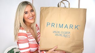 £100 PRIMARK TRY ON HAUL // SUMMER 2018 + TRY ON