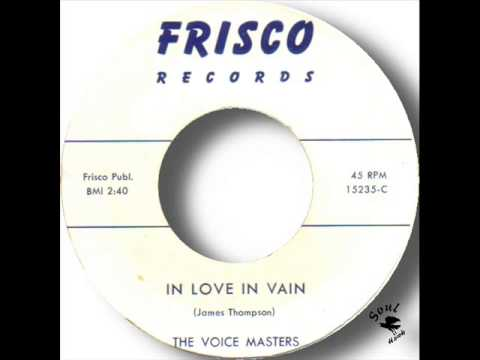 The Voice Masters   In Love In Vain