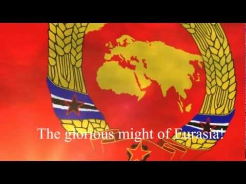 Anthem of the Union of Socialist Eurasia - 'March of the USE' / 'Eurasia Forever'