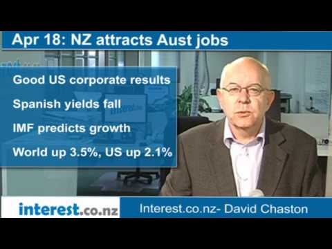 90 Seconds At 9 Am:NZ Attracts Aust Jobs (news With David Chaston)