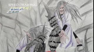 Drawing Sakon & Ukon ( Anime Naruto )