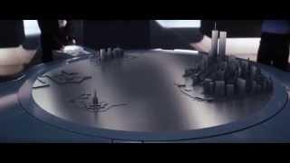 XMen scene with shape display