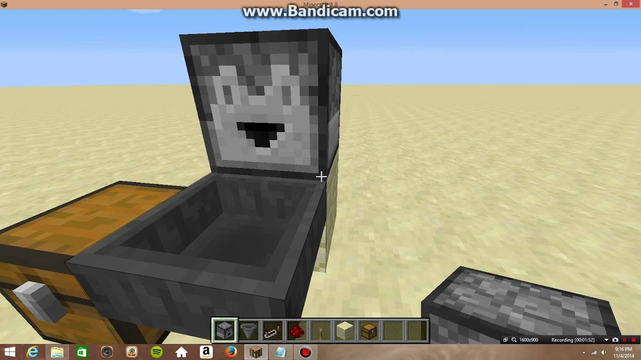 how to use a hopper and a dropper in minecraft YouTube