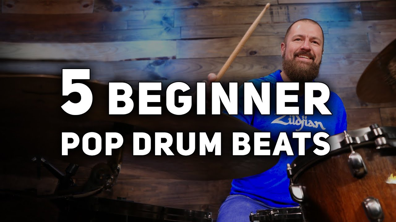 5 Essential Beginner Pop Drum Beats Every Drummer Should Know