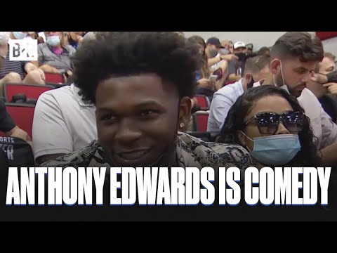 Anthony Edwards Hilarious Interview at NBA Summer League