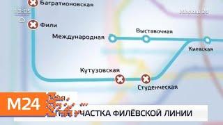 несколько станций Филевской и Таганско-Краснопресненской линий метро не работают 25 мая - Москва 24