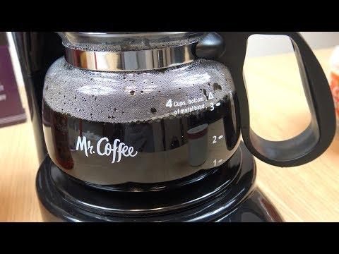 Mr. Coffee 4 Cup Coffee Maker Demonstration