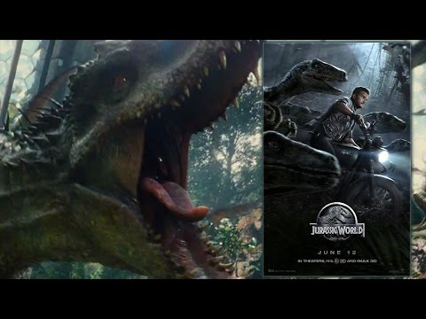 New JURASSIC WORLD Poster And Trailer Review - AMC Movie News