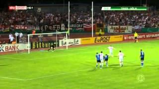 DFB Cup first round SV Eintracht Trier 05 vs 1. FC Köln 0-2 03-08-13
