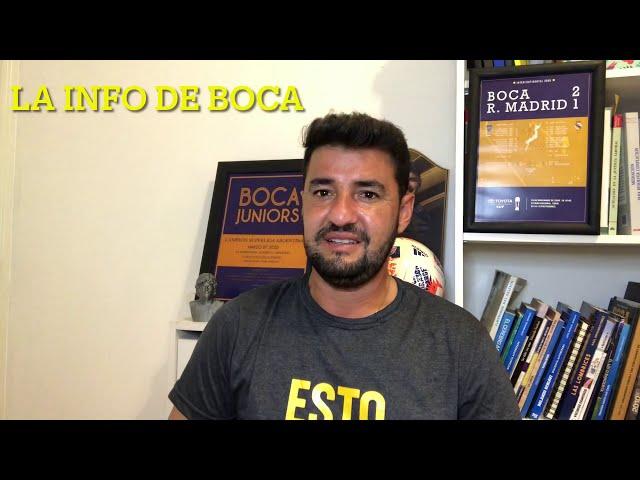 Boca Juniors, las últimas novedades. Luis Vázquez; Miguel Russo repite el equipo y el Superclásico.