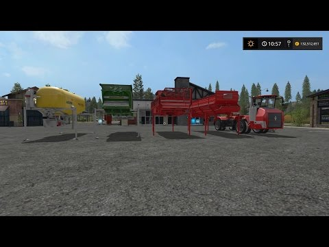 Farming Simulator 2017 (PS4) | Mod Showcase | Holmer Terra Variant and Attachments