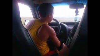 Отец учит сына водить авто,смех,прикол,ржака