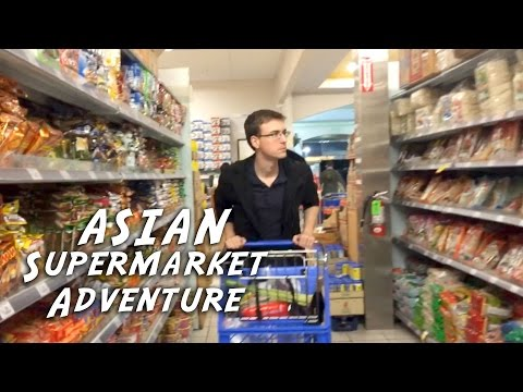 Asian Supermarket Adventure!