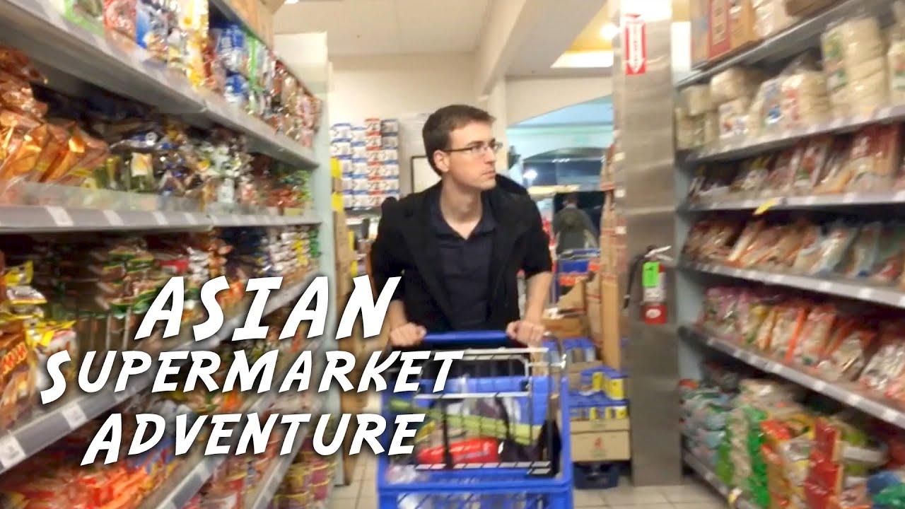 Asian Supermarket Adventure Youtube