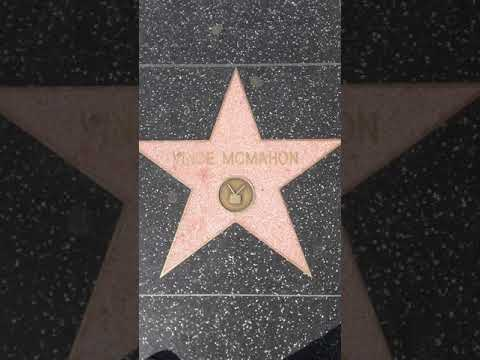Vince McMahon HOLLYWOOD Walk of Fame Star