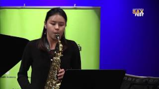 SORA BOUTRY – 2nd ROUND – III ANDORRA INTERNATIONAL SAXOPHONE COMPETITION 2016