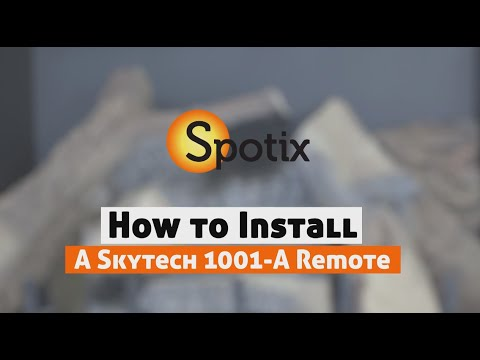 How to Install a Skytech Fireplace Remote - SKY-1001-A - YouTube