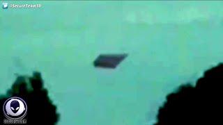Shocked Mom & Daughter Record Eerie Diamond UFO Over Australia! 6/9/16