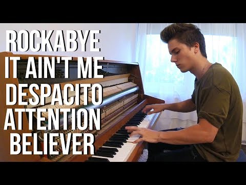Rockabye - It Ain't Me - Despacito - Attention - Believer | Piano Mashup by Peter Buka