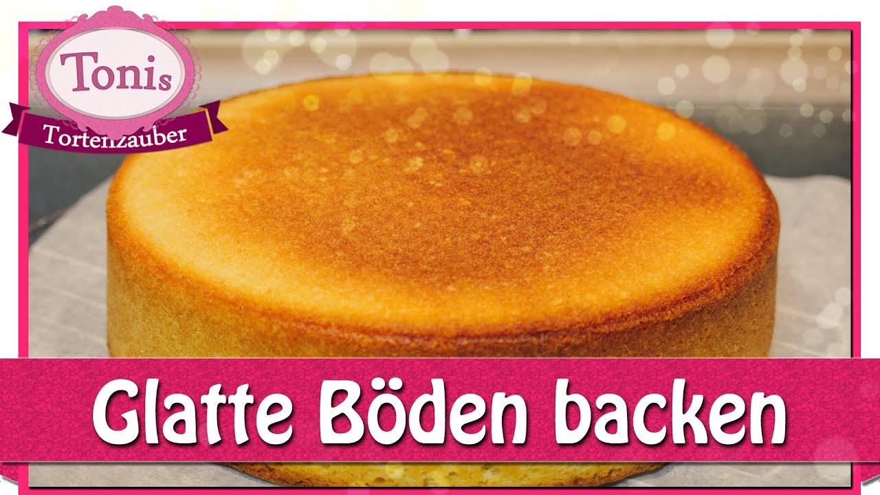 Kuchen Mit Glatter Oberflache Backen Glatte Tortenboden Tipps