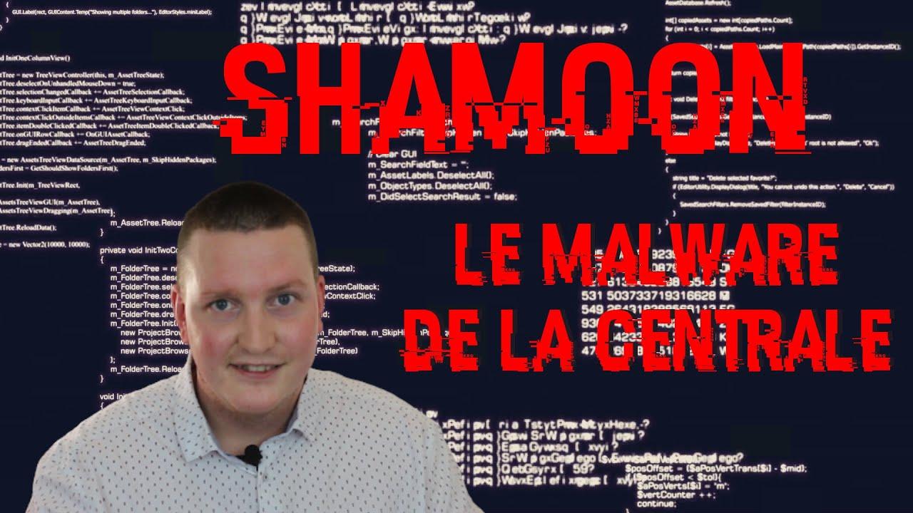 SHAMOON : LE MALWARE DE LA CENTRALE PETROLIERE - par Processus