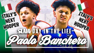 Paolo Banchero is Italy s NEXT GREAT HOOPER SLAM Day in the Life