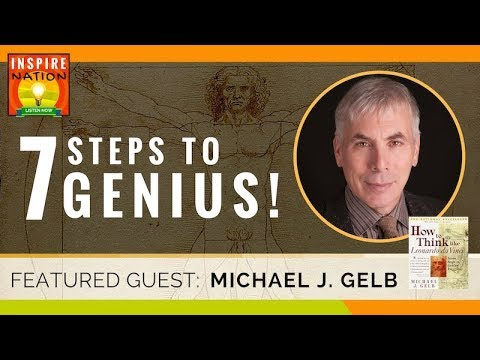 🌟  How to Think Like Leonardo da Vinci! - Seven Steps to Genius Every Day! | MICHAEL GELB