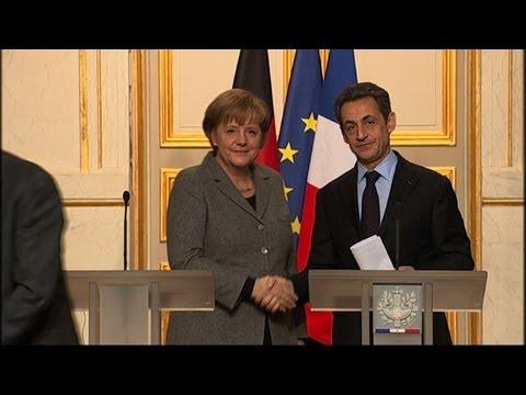 Merkel apporte son soutien au futur candidat Sarkozy