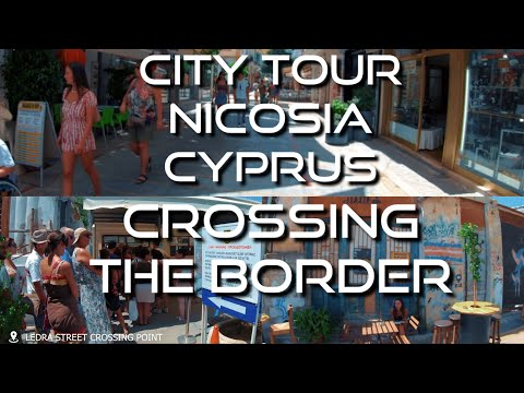 Travel Cyprus | City Tour Nicosia (Lefkosa) | Kibris, North Cyprus