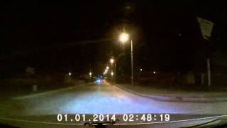 Ночная запись. Digma FreeDrive 201