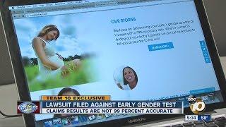 Team 10 Exclusive: Lawsuit alleges gender test gives false promise