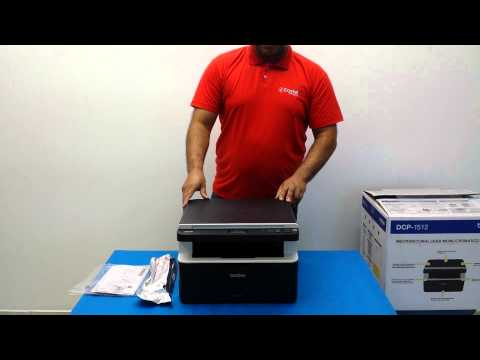 brother dct 1612w how to change toner cartridge video youtube