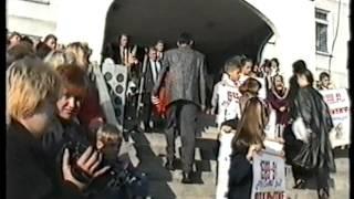Торжественная линейка 1 сентября 1999