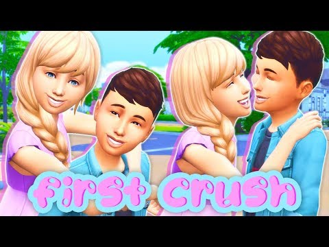 FIRST LOVE MOD REVIEW😘💞 // KIDS CAN HAVE FIRST CRUSHES! | THE SIMS 4