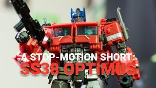A Stop-Motion Short: SS38 Optimus Prime