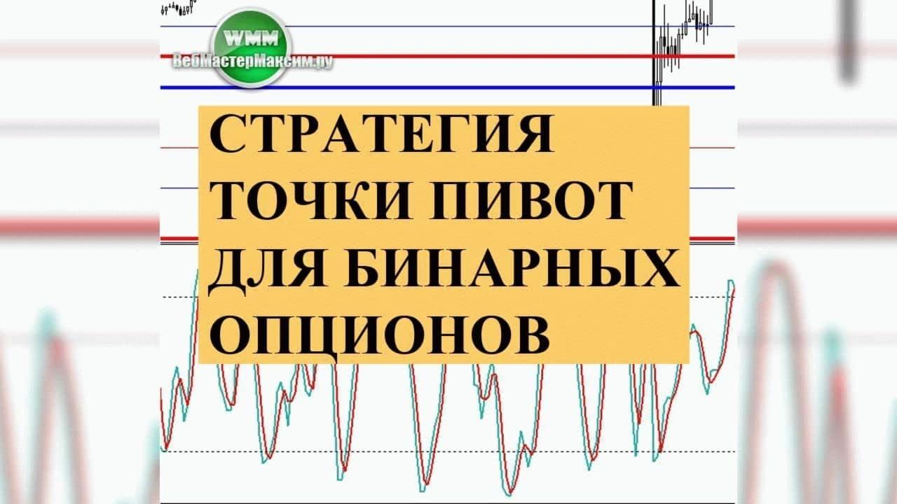 Точка пивот в бинарных опционах индикатор бинарные опционы