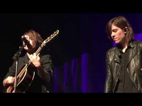 8/16 Tegan & Sara - Guessing Chords for Hop A Plane @ Revolution Hall, Portland, OR 10/26/17