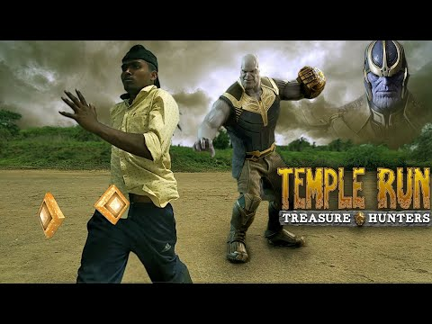 (Avengers Thanos) In Temple Run Blazing Sands In Real Life 2018