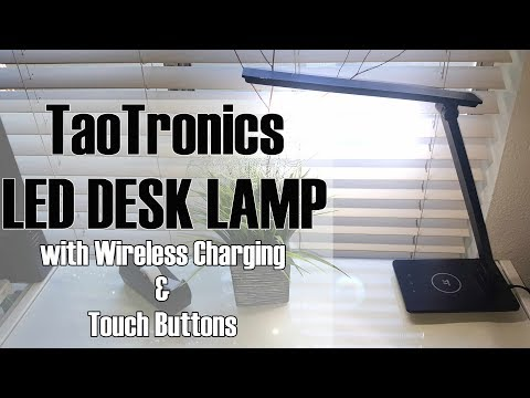 Taotronics Led Desk Lamp | Wireless Charging Unboxing & Review