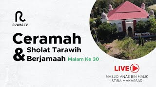 Download lagu [LIVE] Ceramah & Shalat Tarawih Berjama'ah || Malam ke-30