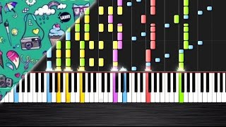 OMFG - I Love You - IMPOSSIBLE REMIX by PlutaX - Synthesia