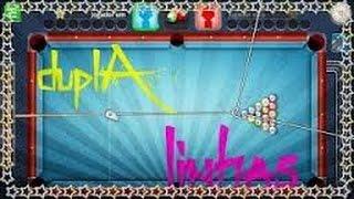 Como colocar linha dupla infinita no 8 ball pool