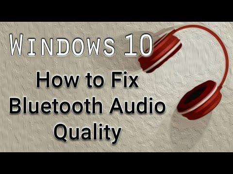 How to Fix Bluetooth Audio Quality - Windows 10 Tutorial
